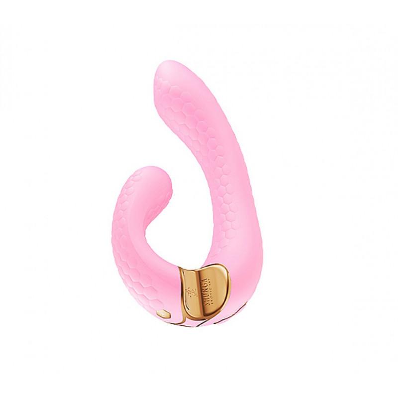 Plug analny zdobiony - Diogol Anni Butt Plug Round Purple & Blue 25 mm Fioletowy z niebieskim