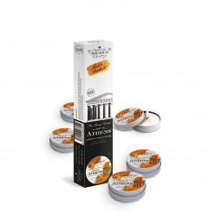 Plug analny zdobiony - Diogol Anni R Butt Plug Heart Gold 25 mm Złoty
