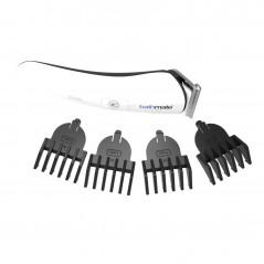 Plug analny zdobiony - Diogol Anni R Butt Plug Clover Gold 25 mm Złoty