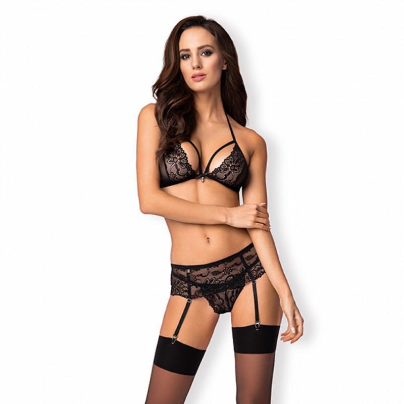 Łańcuszki na plecy i dekolt - Bijoux Indiscrets Magnifique Back & Cleavage Chain Silver